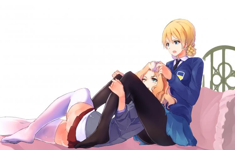 So sweet together. image