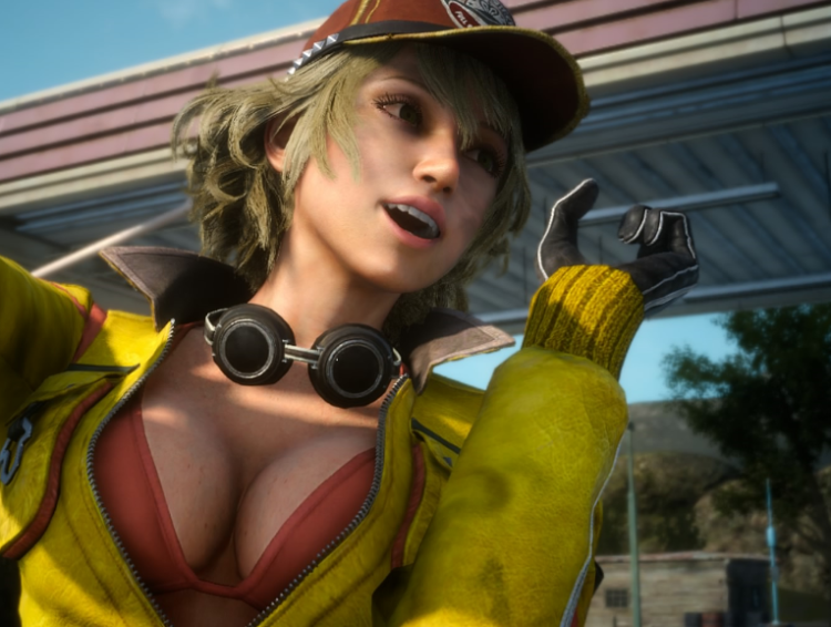 Don't actually see Cindy in game that much now since I just ride Chocobo everywhere. image