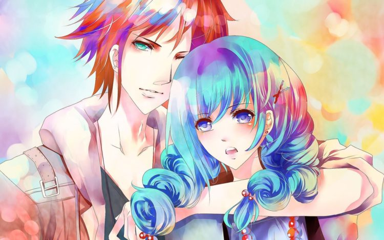 *Tetsu-Shiro and Momo were in human form. they both smile for the camera as their uncle Ukyo took pi