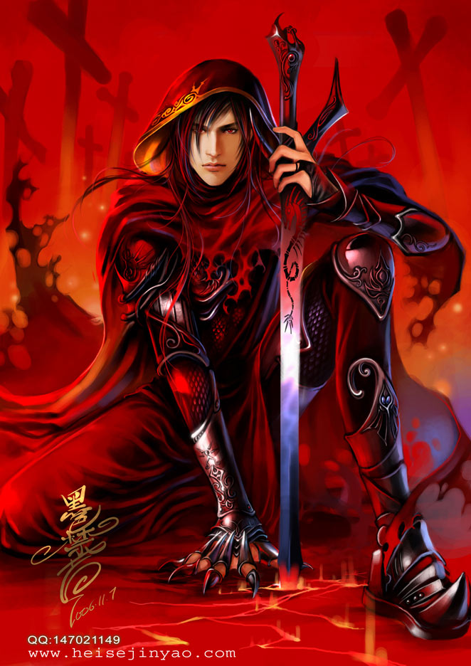 *Having demon blood within him. He respectfully acknowledged Queen Hild by bowing when she appeared