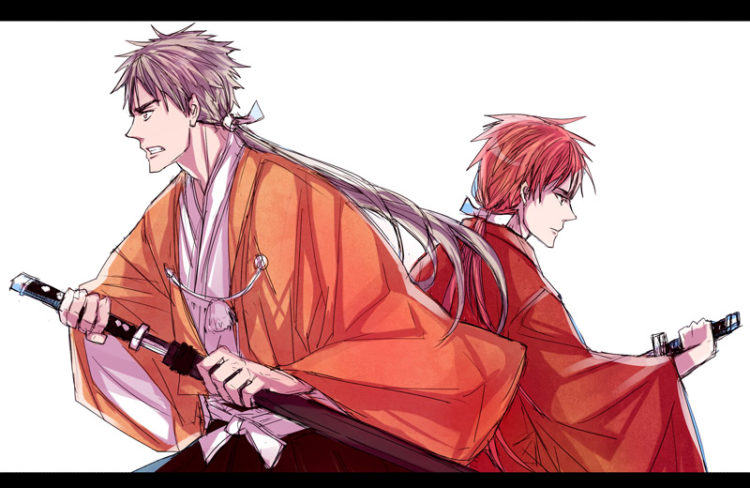 *Appears with Tetsu-Shiro. @tetsu-shiro * Sorry we're late! We were trying to dodge some light