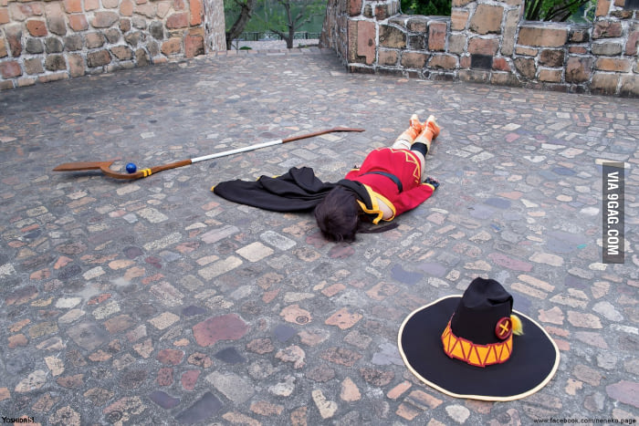 Perfect Megumin cosplay doesn't exi………never mind. image