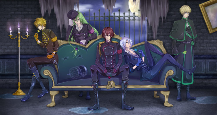 *Ukyo would join some family members for a few drinks and then just hang around.* It's great t