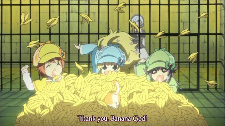 *sweetdrop*mmmm erm… they ate the treasure banana supplies of kondo san UQnAkLL