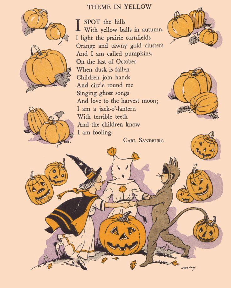 a2c6f6b0dc08dd53b30a3eca4f017809–halloween-poems-halloween-vintage