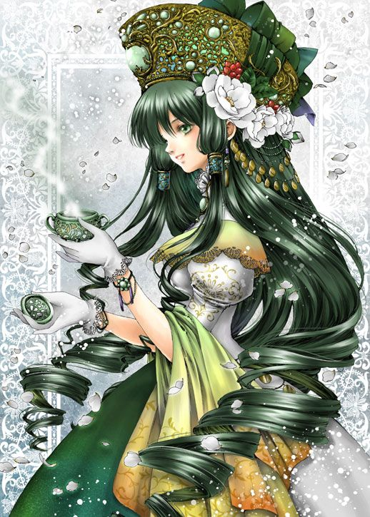 *Helena had gone to a dimension within Satou Arcanum where she could exchange some of her sweet past
