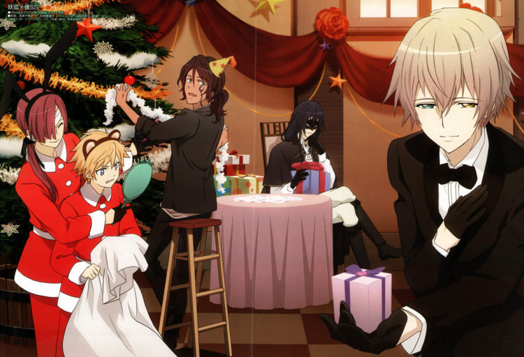 Happy Holidays from all of us at Sugar Sweet Bakery! Inu.x.Boku.SS.full.984223
