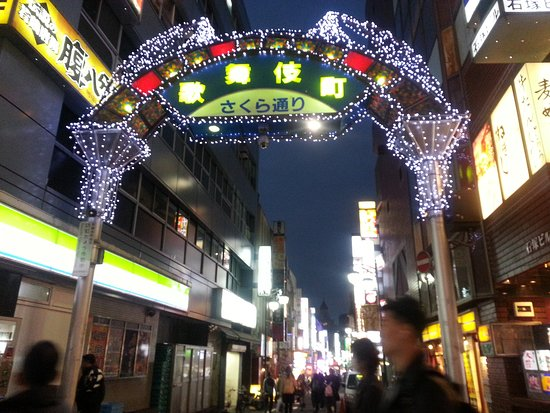 *Kabukicho District was like a portal between the old world and the new. Both styles were reflected