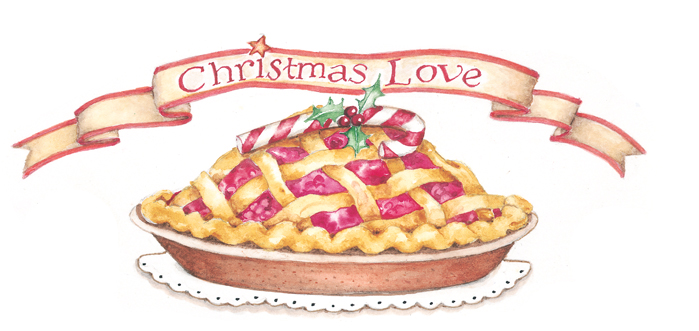 *Kaname made sure her mother's Christmas mini pies were out on display. She boxed a few more t
