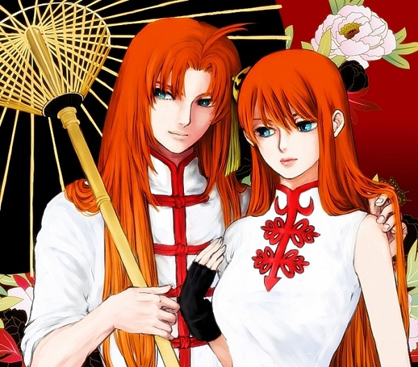 *Finally gets a chance to hang out with his cousin Kikuno.* Took you long enough! @kouanblood Gintam