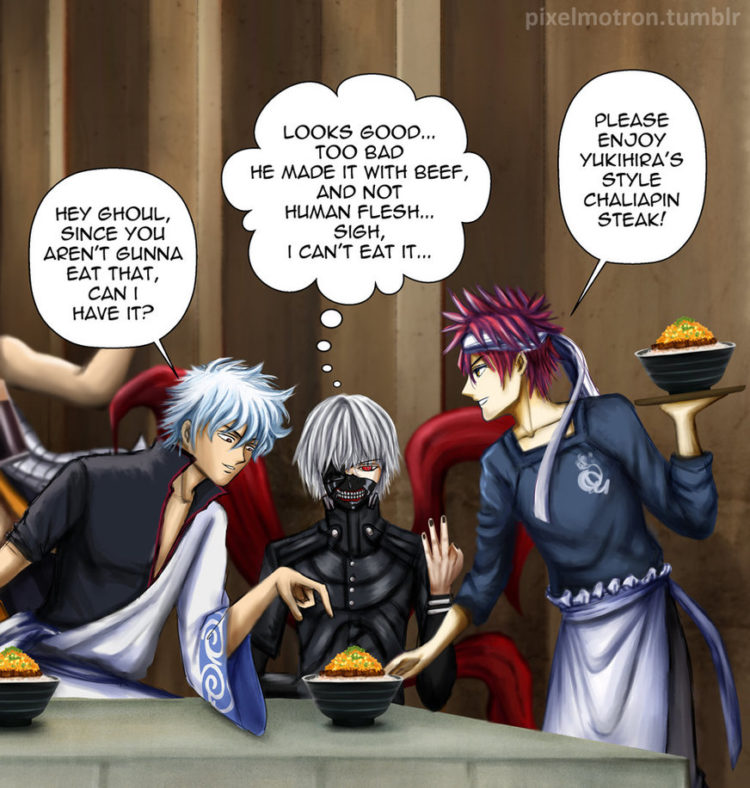 @shiroyassha the_last_supper___anime_crossover_part_4_by_pixelmotron-d9vhw9t
