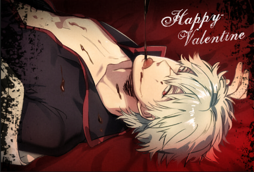 @sweetsugardemon *Gintoki is writing a his version of a love letter for his wifey Helena* Oi! Roses