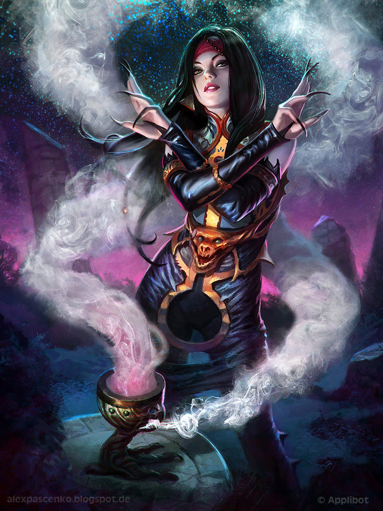 *In order to hide her pregnancy, LuzHela used illusion magic to conceal her small bump from the outs