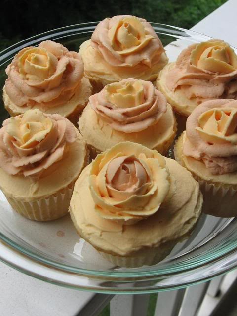 *She arrives at the bakery and heads straight to the kitchen and got busy baking cupcakes. She wante