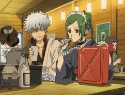 *enjoying a drink with master Gintoki @shiroyassha while they wait for Lady Helena to arrive.* @swee