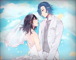 *He had walked inside with his love. He danced with her and the whole time his eyes never left hers*