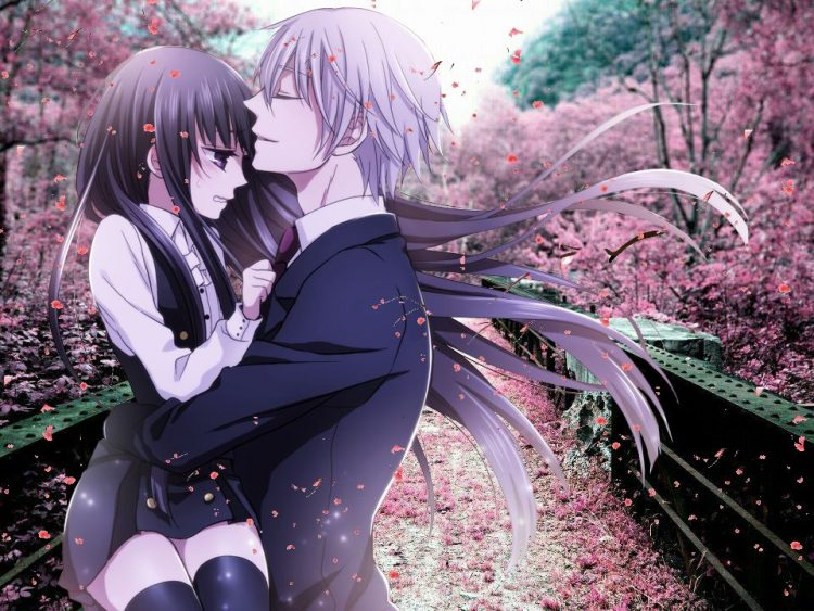 @ayakashispirit *Fulfilling her wish. He takes miss Ririchiyo to the garden so that they can enjoy t