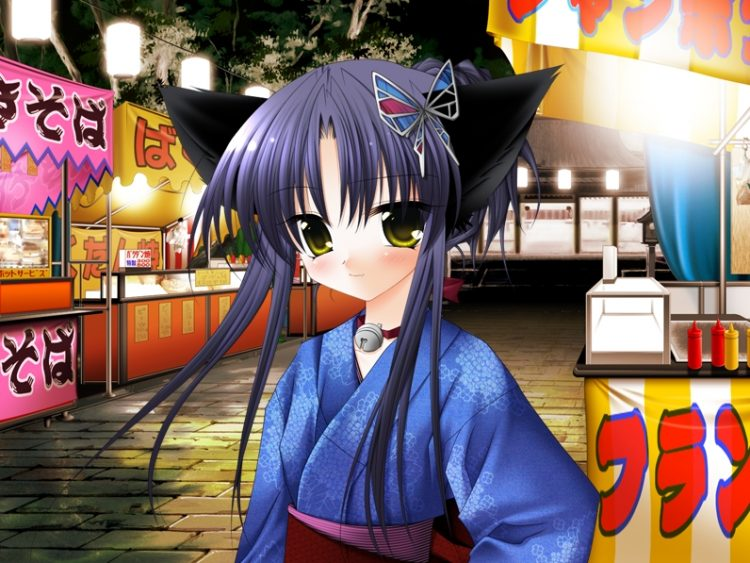 *Tobari had arrived at the festival grounds with the tour group but since was always alone so it mad