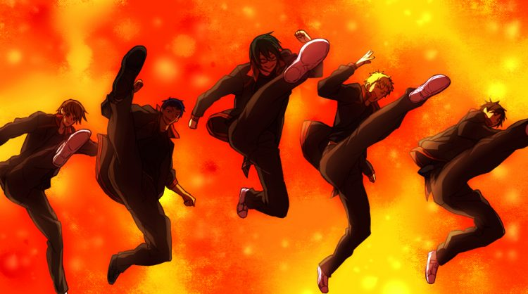 *continuing the celebration at the nightclub with members of his basketball team.* Let's dance