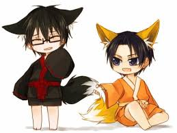 *He smiles and looks around.* So this is what it's like to be a kitsune! hehe minikitsuneshoic