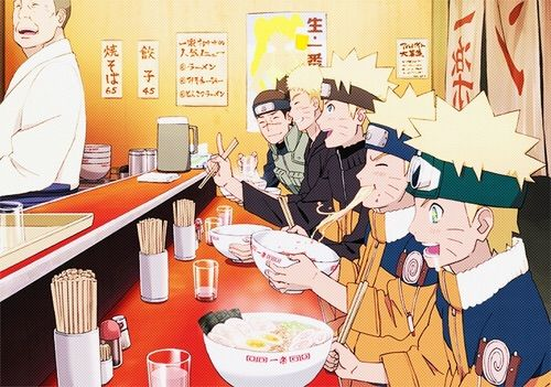 @kandace Kandace chan! Help me serve these noodles! Naruto is multiplying faster than I can serve th