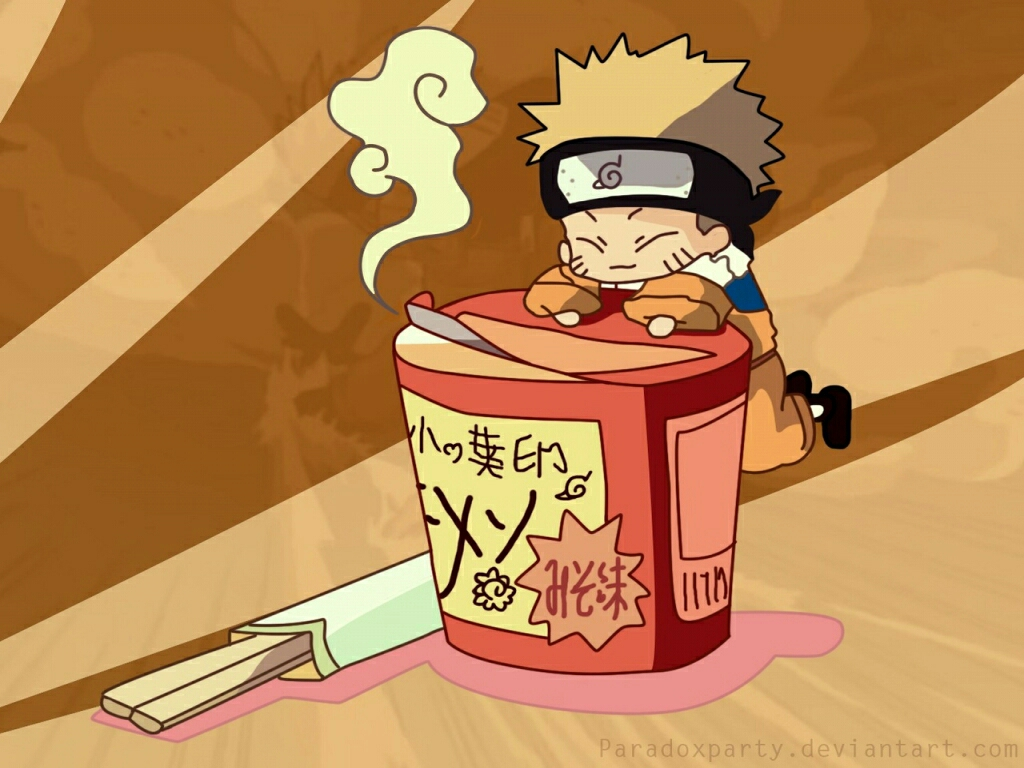 *Serving ramen noodles in honor of Naruto's birthday for the rest of the weekend.* Happy Birth
