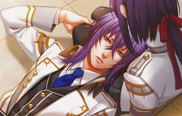 *when they were younger, Tsuki Tsuki would often spend his time laying on young Helena's lap a