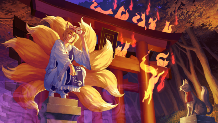 *To give the other kitsune clan ladies a break from their tasks. Kandace would be in charge of patro