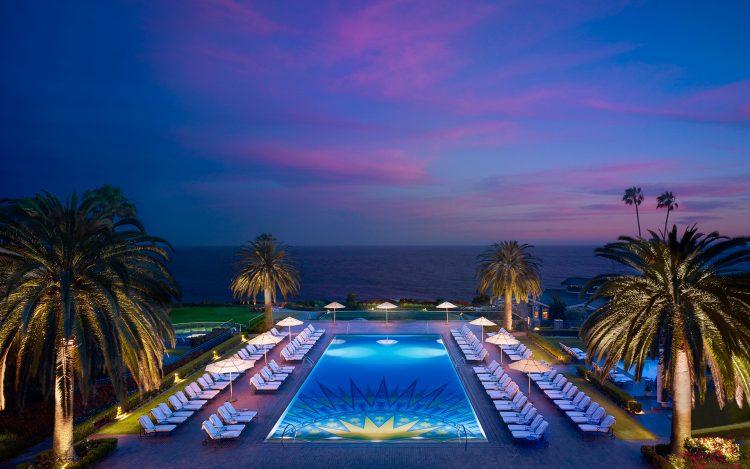 mlb-pool-sunset
