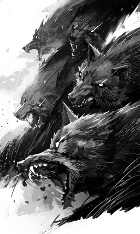 *The demon wolves began to stir as they sensed the coming of Halloween.* c07016b6f65ac89dac3c8243d8e