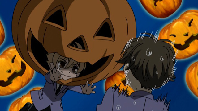 *Outside the bakery scaring a few unsuspecting customers.* BOO! honeyhalloween