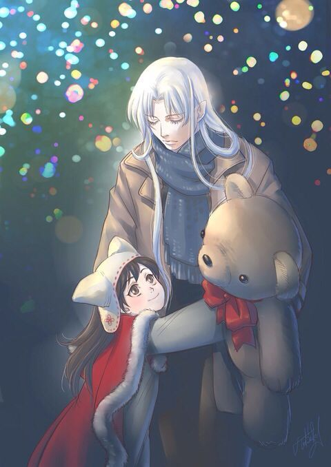 *Sesshomaru with a much younger Helena* @sweetsugardemon 6c5d1f070cc22e8129b9e429413c0bde