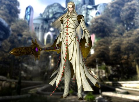 *Heading to the temple of the gods to store away an ancient artifact he had retrieved.* Excellent! A