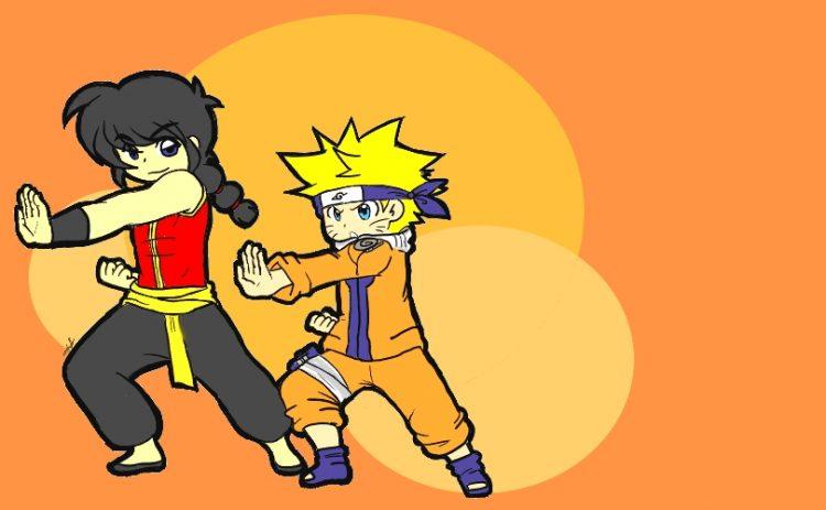 *Training with Naruto at the dojo* @narutokyuubishadowlightuzumakii // I love this rendition by Chib