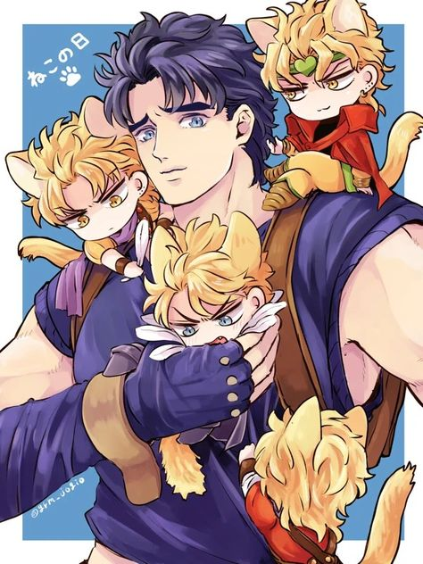 *Taking care of the neko at Nekomatalandia* Emm! Is it me? Or have I been chasing after Dio so blood