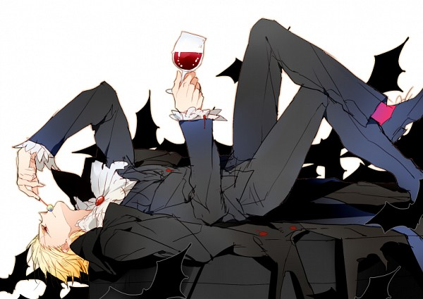 *Kintoki lounges around the FoxFlame Ballroom with Noloty. @promiscuous * This delicious red wine is