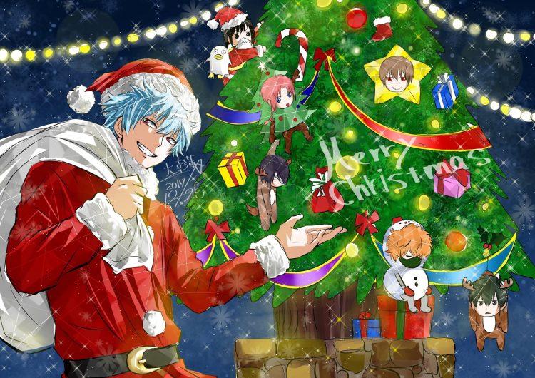 *Decorating Yorozuya for the holidays* Gintama.full.2238752