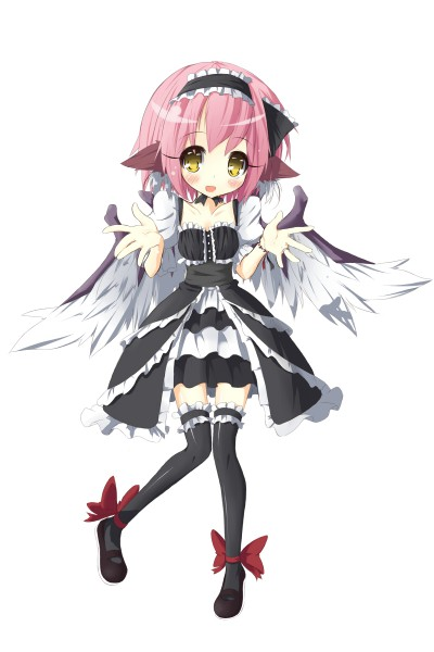 Since big sis is trying out new clothes, I wanna try too! So how do I look? Mystia.Lorelei.600.14129