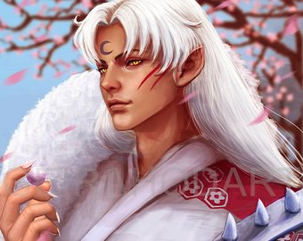 *After enjoying some time with family and some magnificent meals. Sesshomaru took a little time to b