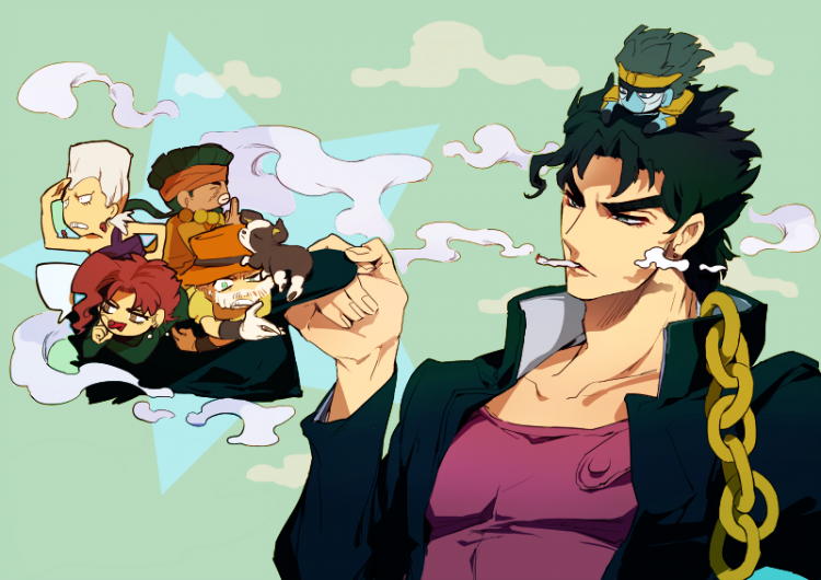 Hi minna! Glad to be here! Name's Jotaro for those who don't know me! Helena and Gin! I