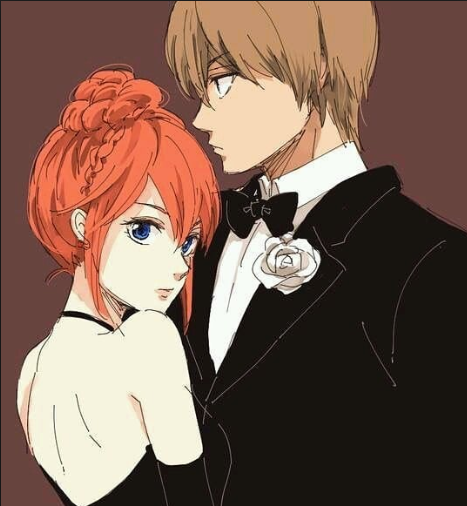 *After his mission he takes his beloved Kikuno to the holiday ballroom dance.* As promised! *They re