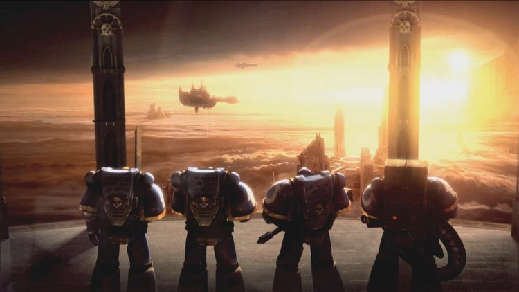 We battle brothers share a bond stronger and closer than you shall ever know. For we are Astartes, c