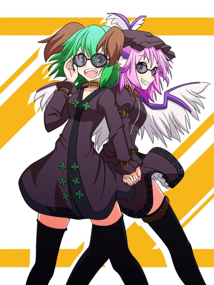 @deaftoallbutthesong *Kyouko and Mystia visit the mall to do some shopping. Mystia mentioned a birth
