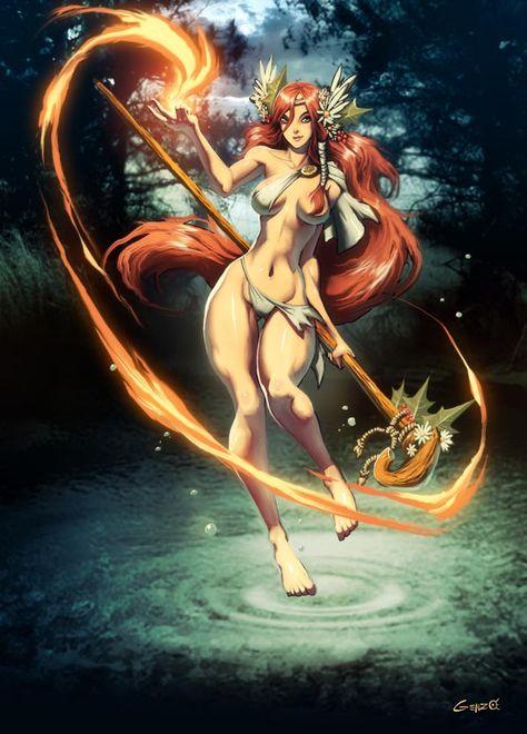 hikari–fantasy-art-celtic-goddess