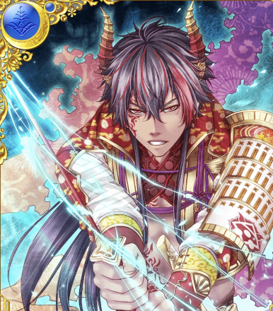 *There was anger ablaze in the heart of Kikkawa. He never expected Lord Satan to ask for his long ti