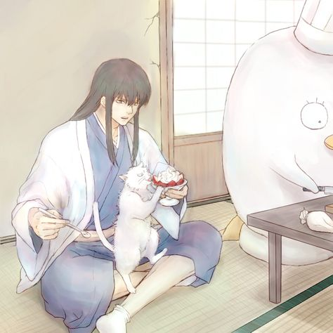 @shogunehou @sweetsugardemon *While Elizabethu was making pies in the kitchen, Katsura was trying to