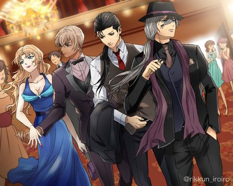 *Drops into the ballroom with Alfonsina, Rei, and Toshi* @candycandyali @silentgungrave @toshizosaot