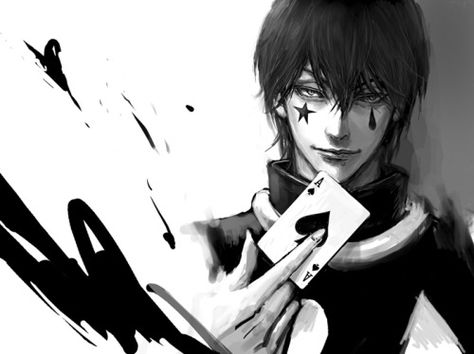 *He looks at Diego from top to bottom. Licks his lips and smirks slightly. He then uses a an ace of