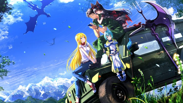 Gate: Thus the JSDF fought there : In the centre of modern day japan, life is as normal as ever as p