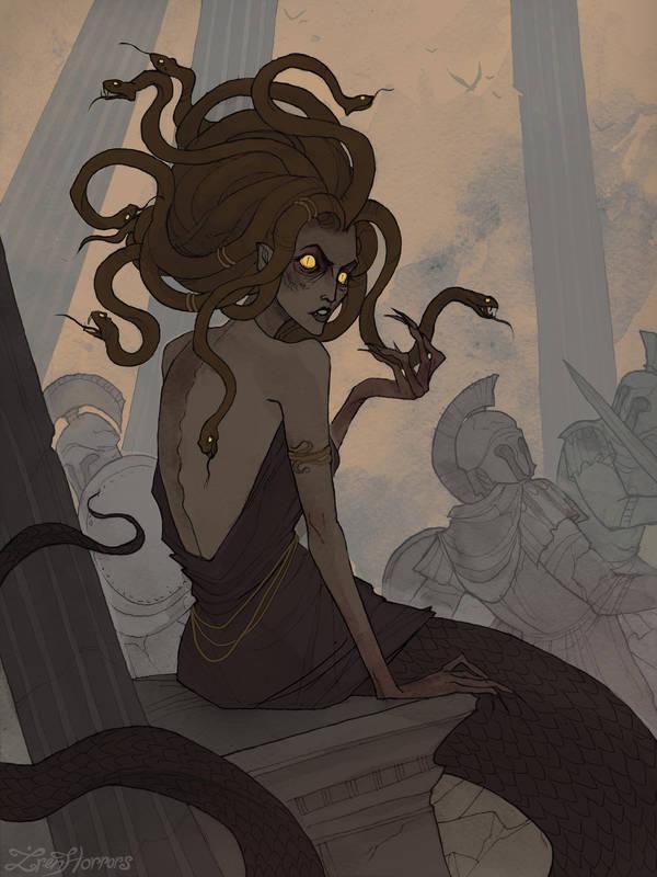 Gorgon Medusa…my mother! F608B509-EA5B-4A7E-839F-B17DD76A694A